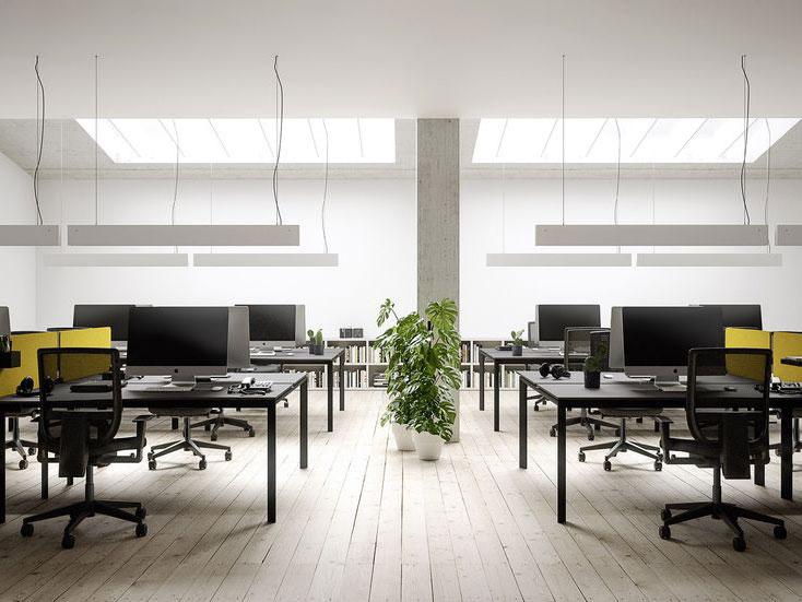 Mobili per ufficio scrivanie tavoli sedie e poltrone for Arredamento d interni per ufficio