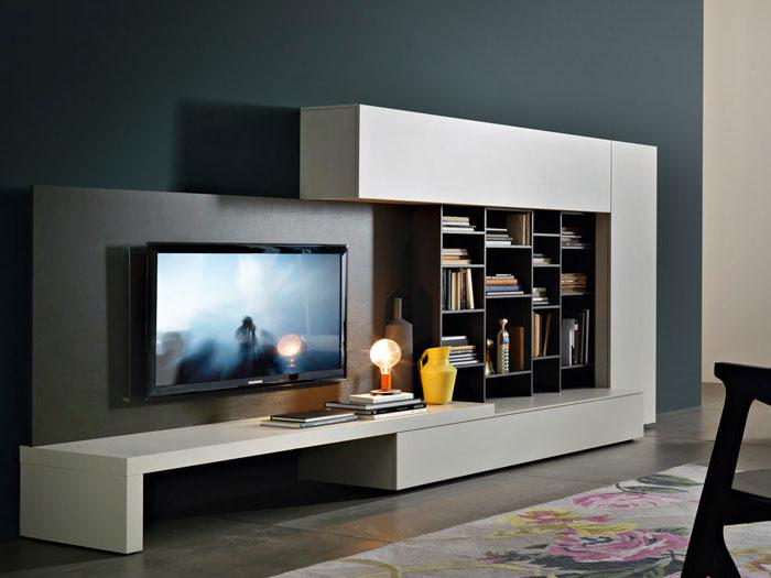 Soggiorni Moderni - Mobile Sala Design | square m4 madia ...
