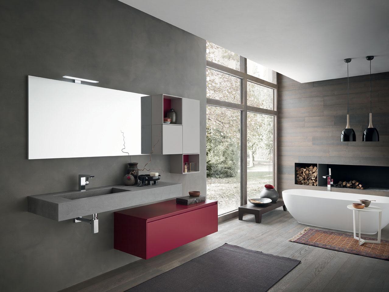 Mobili e arredamento per bagni for Idee di arredamento moderno