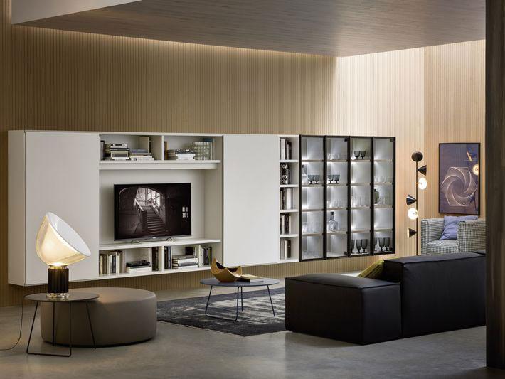 Mobili per arredare il salotto for Salotti moderni foto