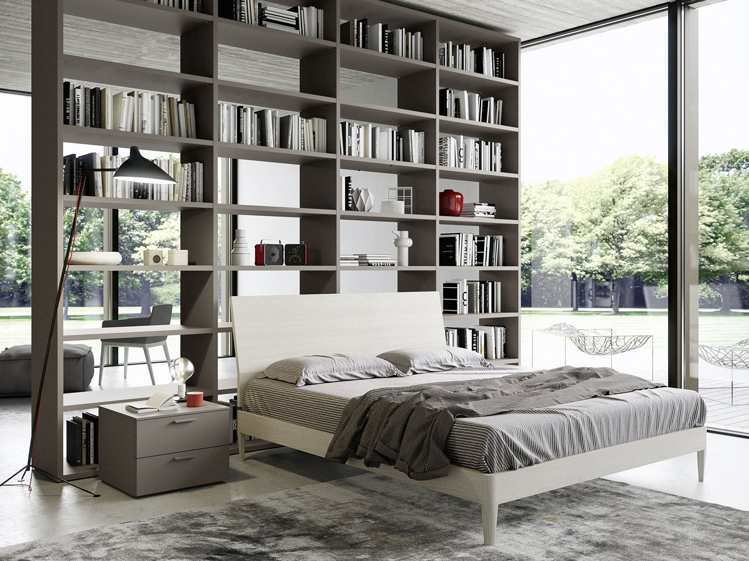 Libreria Design Camera Da Letto | Joodsecomponisten